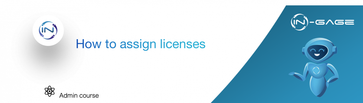 How to assign licenses