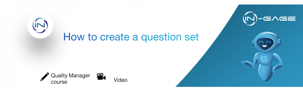 How to create question sets