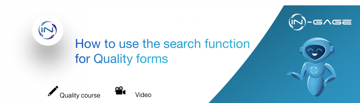 How to use the Quality only search function
