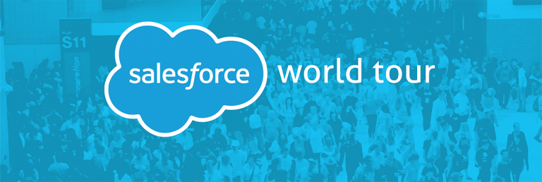 10 and ½Tips for Making the Most of Salesforce World Tour 2019