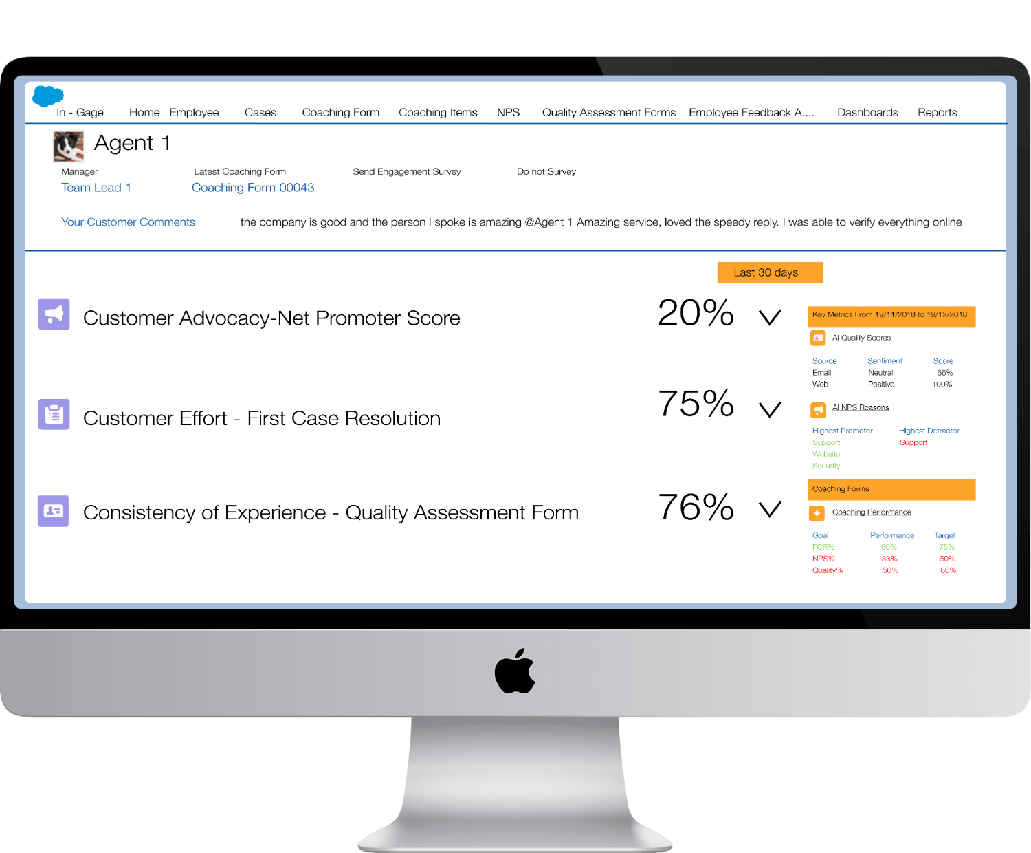 salesforce customer service tools