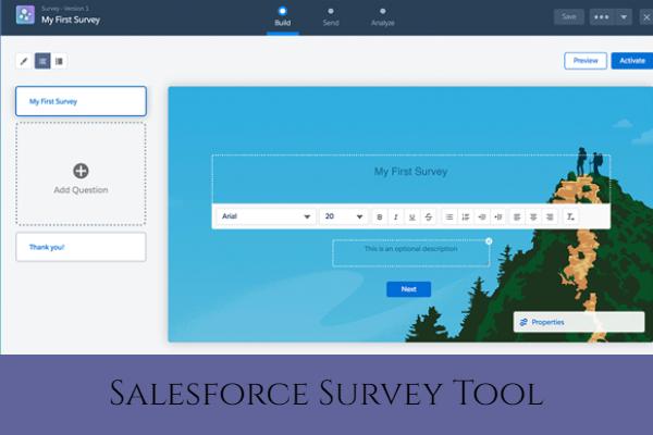 Salesforce Survey Tool